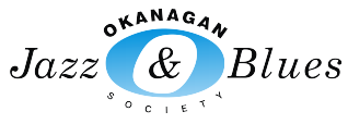 Okanagan Jazz and Blues Society logo